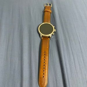 Leather Band Fossil SmartWatch